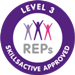 REPs Registered level-3